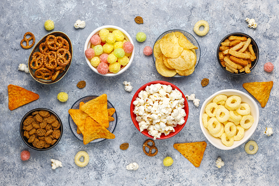 Consumers' snacking trends & preferences increase snack food business globally